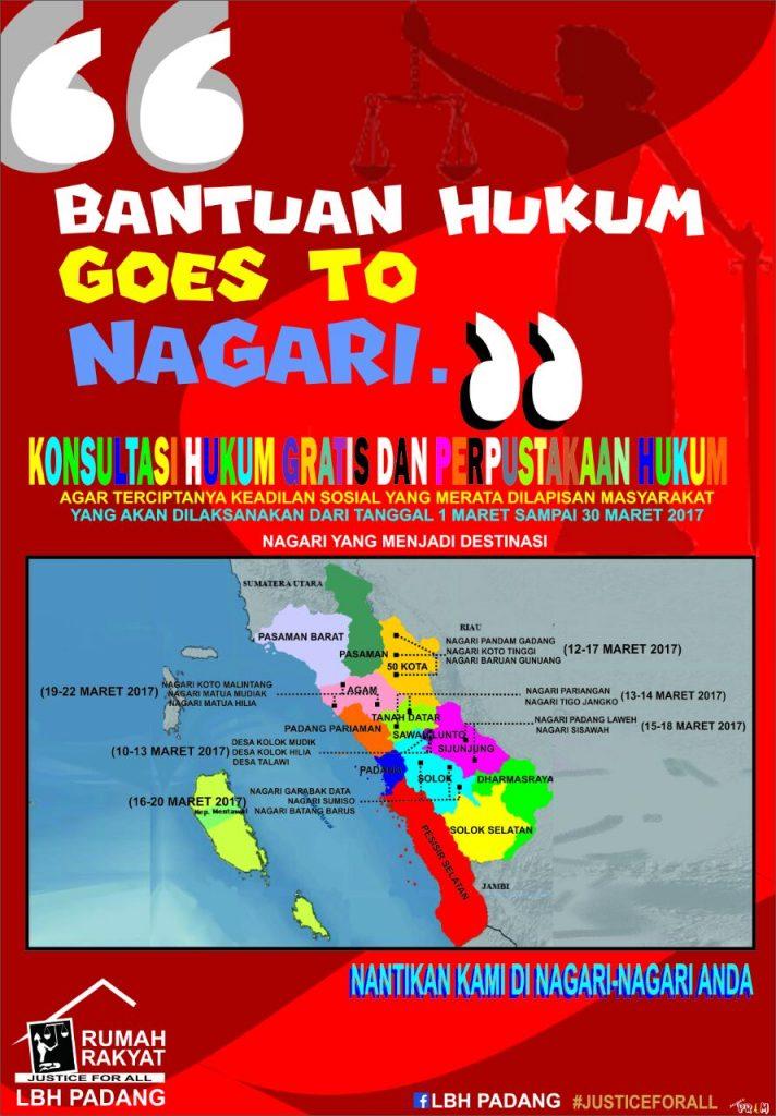 """LBH PADANG """"BANTUAN HUKUM GOES TO NAGARI"""""""